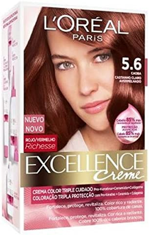 Imedia Imedia Excel Tinte 0560 Caoba 400 ml: Amazon.es: Belleza
