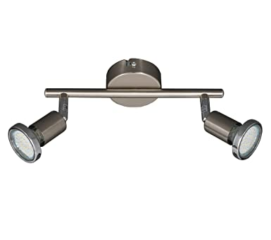 Trango TG2935 022B LED Deckenlampe Spots Inkl. 3 Watt LED Leuchtmittel  3000K Warm