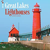 Great Lakes Lighthouses 2016 Square 12x12 Wall Calendar