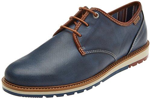 Nautic Derby de Cordones Berna Pikolinos Hombre Zapatos Azul para M8j UOnznqAX
