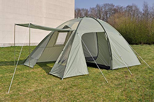 GYD Outdoor Iglo Kuppel Zelt Scandik 4Personen 4 Farben Mod17 Inkl. Tasche (Familien Zelt für 4 Personen)