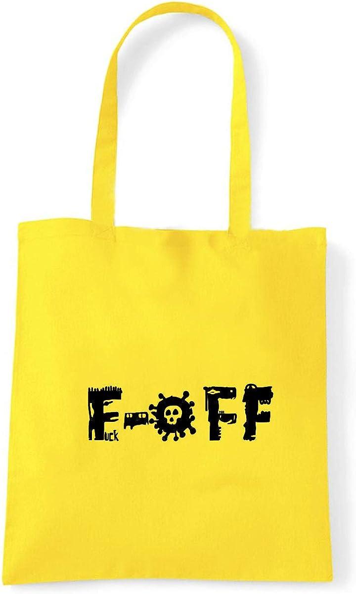 Art T-shirt, Shoulder F OFF F-off, Shopper, Mare