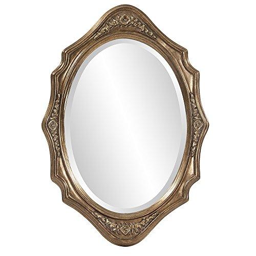 Howard Elliott 4053 Trafalgar Oval Mirror, 19 x 27-Inch, Virginia Silver (Trafalgar Collection Trafalgar Collection)