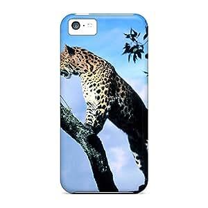 New Style Deniore Leopard In A Tree Premium Tpu Cover Case For Iphone 5c