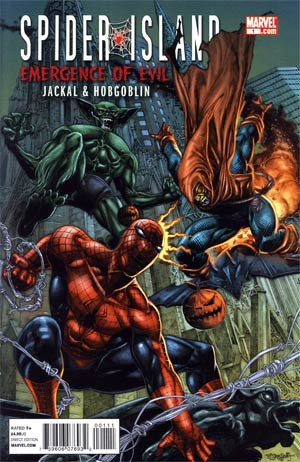 Spider-Island Emergence Of Evil-Jackal And Hobgoblin #1 pdf epub