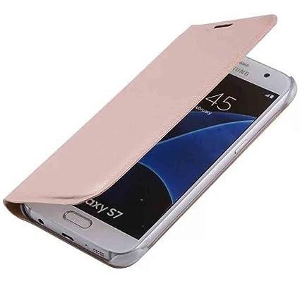 wholesale dealer 9df89 4ee68 Amazon.com: Galaxy S7 Flip Case, OMORRO Newest Posh Fashion ...