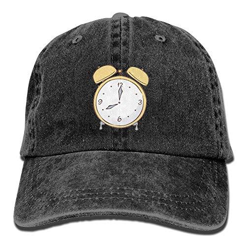 Cowboy Denim Cap Women Men Hats Skull Clock Sport DEFFWB Cowgirl for Hat Time 6OfwfqY