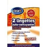 Clearit 71X5027 Lingettes Auto-Nettoyantes Vitro + Induction