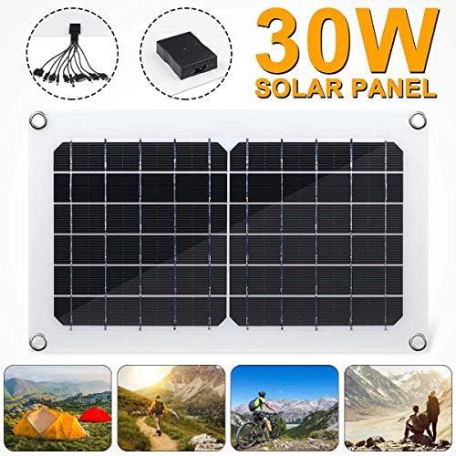 XHJZ 30W Solar Panel 5V Solarzelle USB Monokristalline 2A Solar-Ladegerät Ausgang Outdoor-Camping-Arbeits
