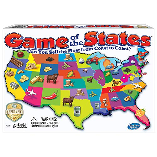 51DMK7WlzAL - Winning Moves Games Game of The States, Can You Sell The Most from Coast to Coast? Game Board Game