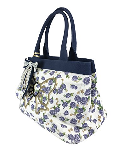 Atelier Fixdesign Canvas Shopping Bag FC7002 Lavender Flowers