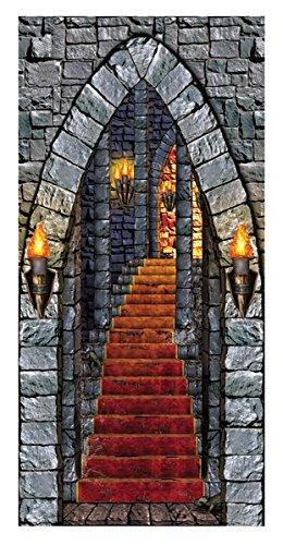 Beistle Castle Entrance Door (Halloween Entrance Ideas)