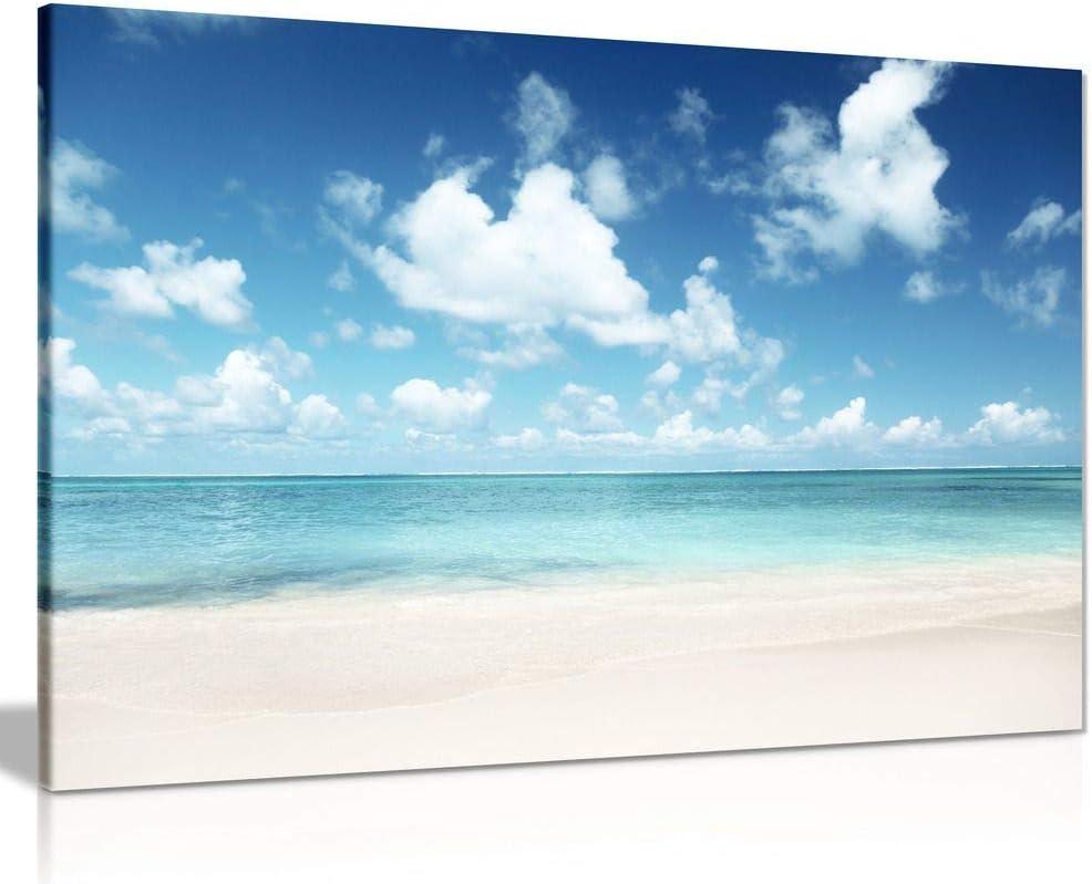 Mar Caribe Playa Arena /& LONA pared arte Foto impresión