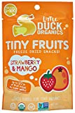 Little Duck Organics Tiny Freeze Dried Fruit Snack, Strawberry/Mango, 6 Count