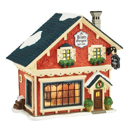 Department 56 Alpine Village Violin Maker Light House, 5.71 inch (Dept 56 A Home In The Making)