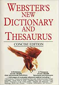 websters dictionary amazon