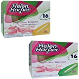 Helen Harper Normal and Super Applicator Tampons (Pack of 2)