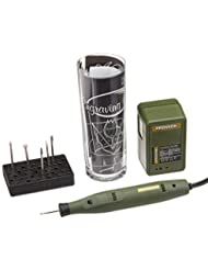 Proxxon 38635 Complete Engraving Kit with Trial Glass