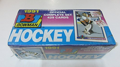 1991/92 Bowman Hockey Factory Set 1991 Bowman Baseball Factory