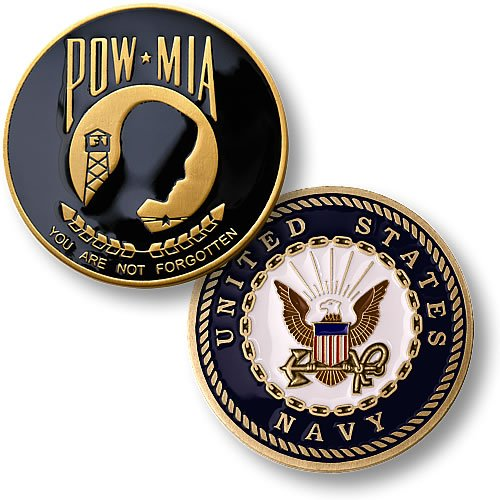 POW . MIA Navy by Northwest Territorial Mint