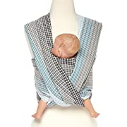 Woven Wrap Baby Carrier for Infants and Toddlers (Moon Honeycomb)