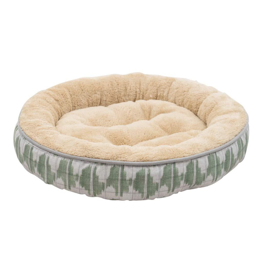 6  L60cm60cmDSADDSD Pet House Kennel Cat Litter Round Small And Medium Kennel Mat Four Seasons Universal Comfortable Pet Supplies (color   7 , Size   L60cm60cm)