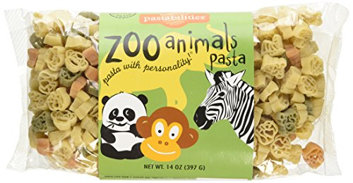Zoo Animals Pasta