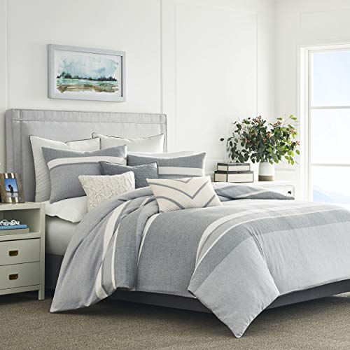 Nautica Clearview Comforter Set, King, Grey ()