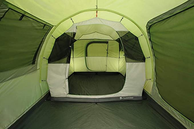 Ferrino Proxes 3 - Tienda de campaña familiar, capacidad para 3 personas, color verde