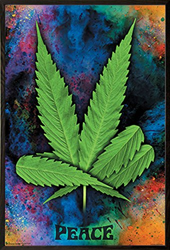 Peace-Pot-Leaf-Poster-Print