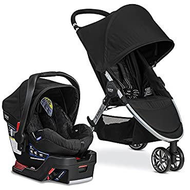 Britax 2017 B-Agile & B-Safe 35 Travel System, Black