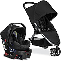 Britax 2017 B Agile & B Safe 35 Travel System (Black)