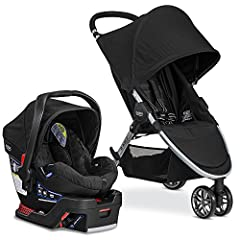 Enjoy family time with the B-Agile/B-Safe 35 Travel System combining the Britax B-Agile Lightweight Stroller, the Britax B-Safe 35 Infant Car Seat, and the Britax car seat adapters in one convenient box. The B-Agile Stroller is lightweight fo...