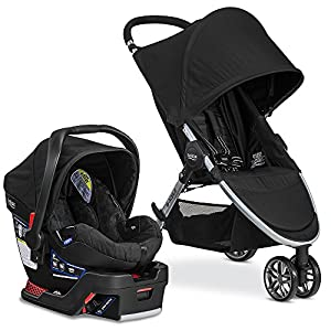 Britax 2017 B Agile & B Safe 35 Travel System, Black