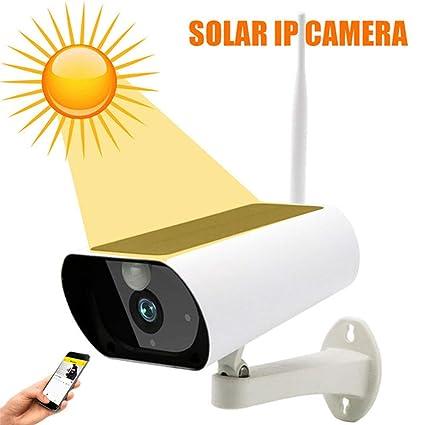 Seguridad Cámara con alimentación Solar WiFi Cámara IP ...
