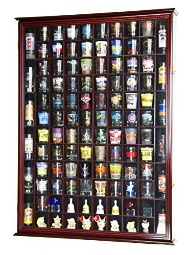 108 shot glass display case - 1