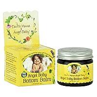 Earth Mama-Angel Baby Angel Baby Bottom Balm, 2 oz (60 ml) (Pack of 2)