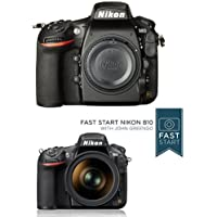 Nikon D810 FX-format Digital SLR Camera Body w/ Fast Start Course