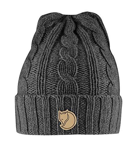 Fjallraven - Braided Knit Hat, Dark Grey