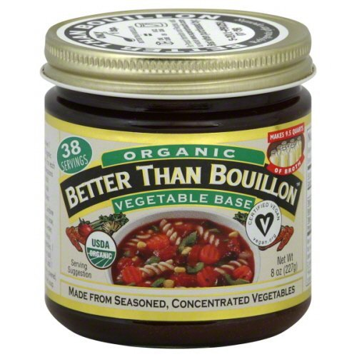 Superior Touch Better Than Bouillon Organic Vegetable Base Broth 8 oz - Pack of 6 by Superior Touch