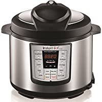 Instant Pot LUX60V3 V3 6 Qt 6-in-1 Multi-Use Programmable...