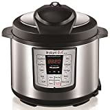 Instant Pot LUX60V3 V3 6 Qt 6-in-1 Multi-Use Programmable Pressure Cooker, Slow Cooker, Rice Cooker, Sauté, Steamer, and Warmer