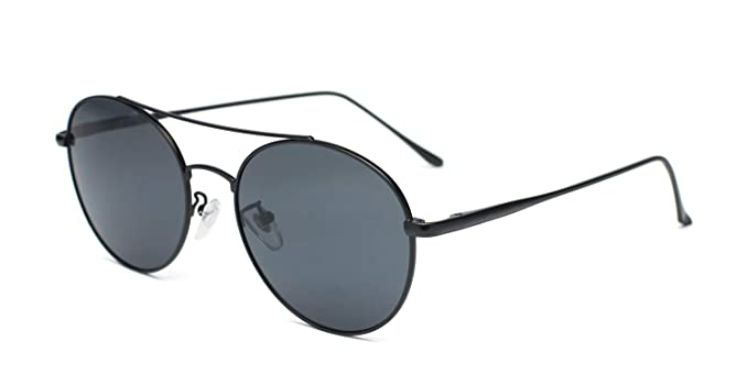 Amazon.com: Hilary Duff Muse Lucille - Gafas de sol redondas ...