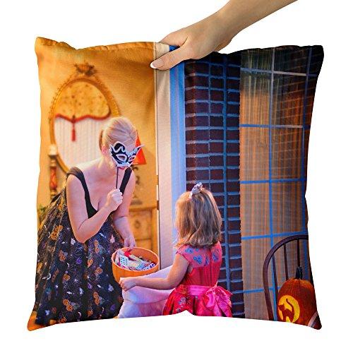 Westlake Art Decorative Throw Pillow - Room Purple - Photography Home Decor Living Room - (New York's Village Halloween Parade)