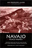 Image of Navajo Place Names: An Observer's Guide