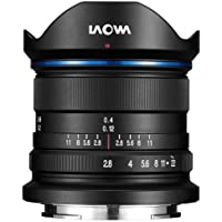 Laowa 9mm f/2.8 Zero-D SLR Ultra-Wide Lens (SLR, 15/10, Ultra Wide Lens, Sony E, Sony, Black)
