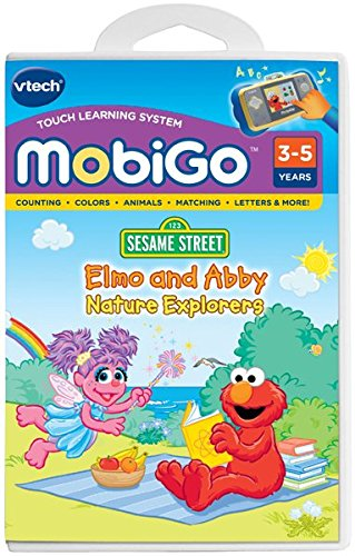 VTech MobiGo Software - Elmo and Abbey; Nature ()