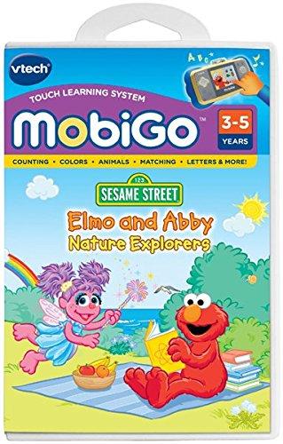 - VTech MobiGo Software - Elmo and Abbey; Nature Explorers