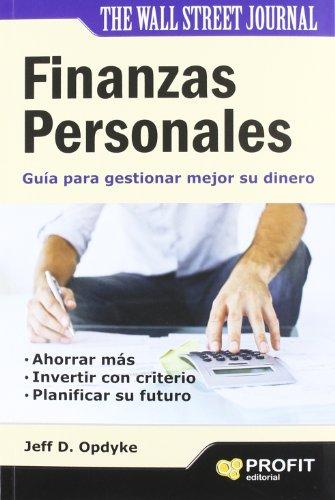 Descargar Libro Finanzas Personales Jeff D. Opdyke
