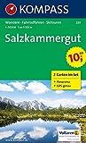 Salzkammergut: Wanderkarten-Set mit Radrouten, Skitouren, und Panorama. GPS-genau. 1:50000